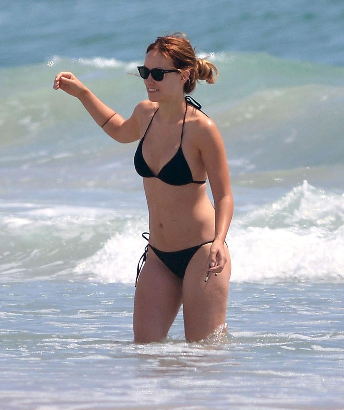 Hawtcelebs Beach On 0nnp8wkxo Olivia In Wilde – Bikini The Wilmington VqMSUzp