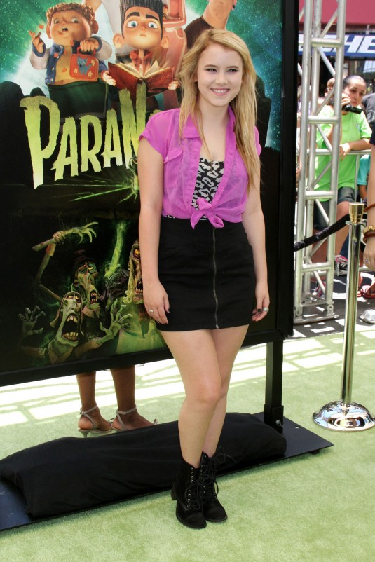 TAYLOR SPREITLER at ParaNorman Premiere in Los Angeles Read more:
