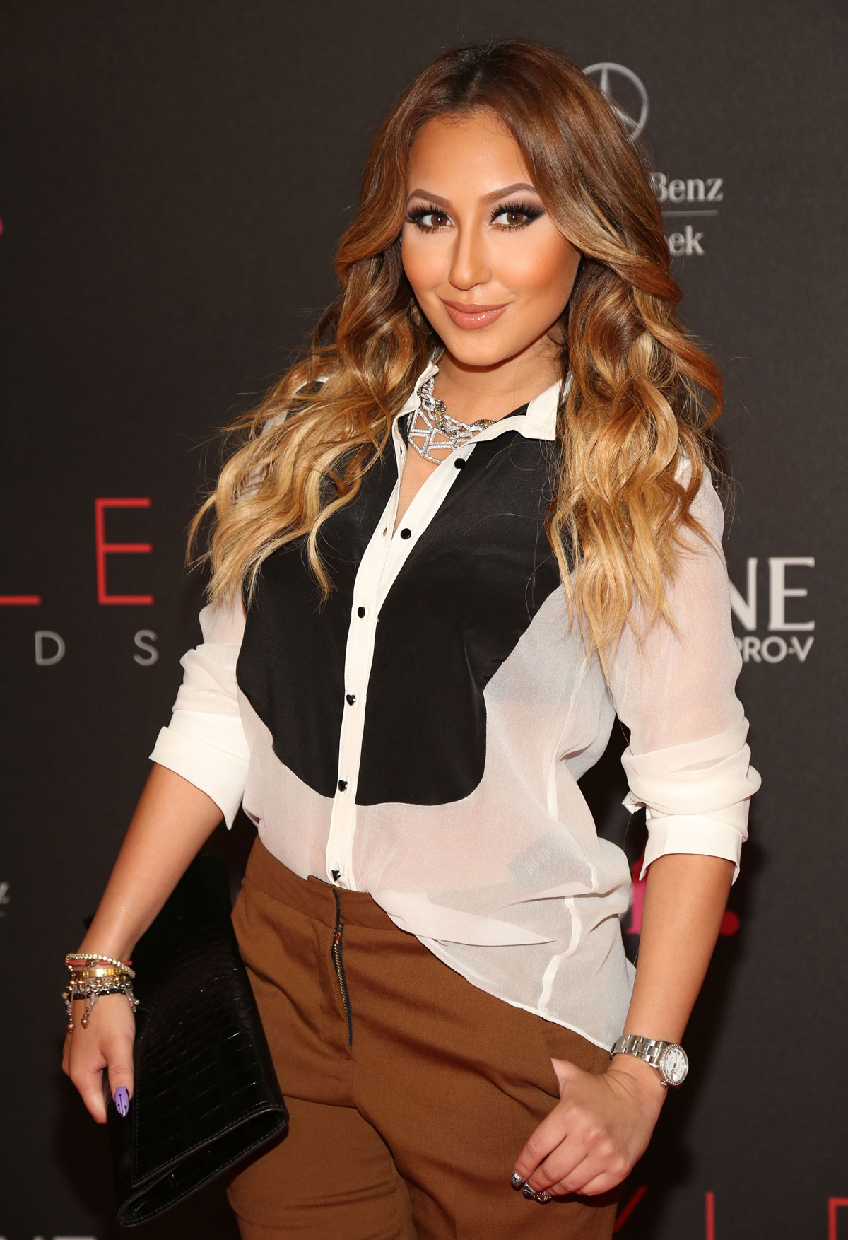 Adrienne bailon at 9th annual style awards in new york 1