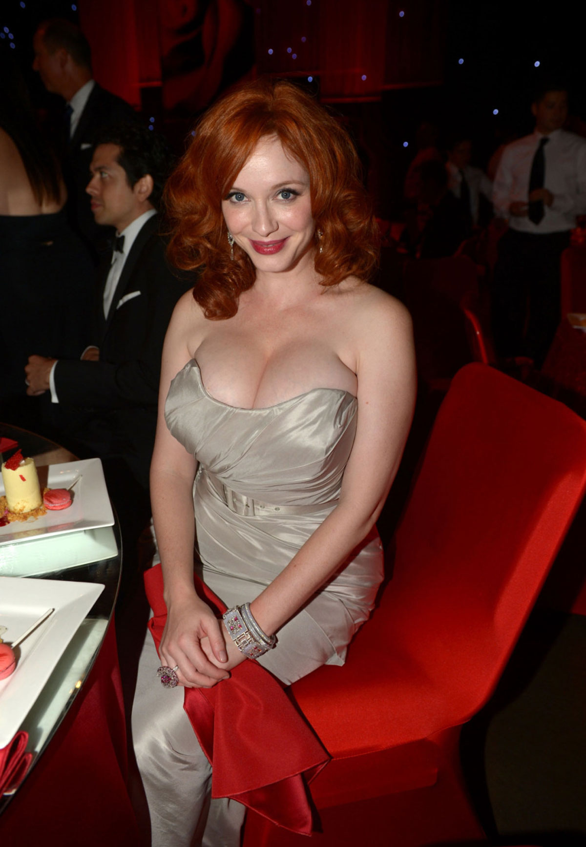 Christina Hendricks At Emmy Awards Governors Ball In Los Angeles Hawtcelebs