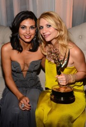 CLAIRE DANES and MORENA BACCARIN