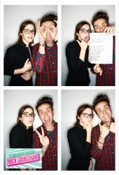 EMMA WATSON and Nick Grimshaw