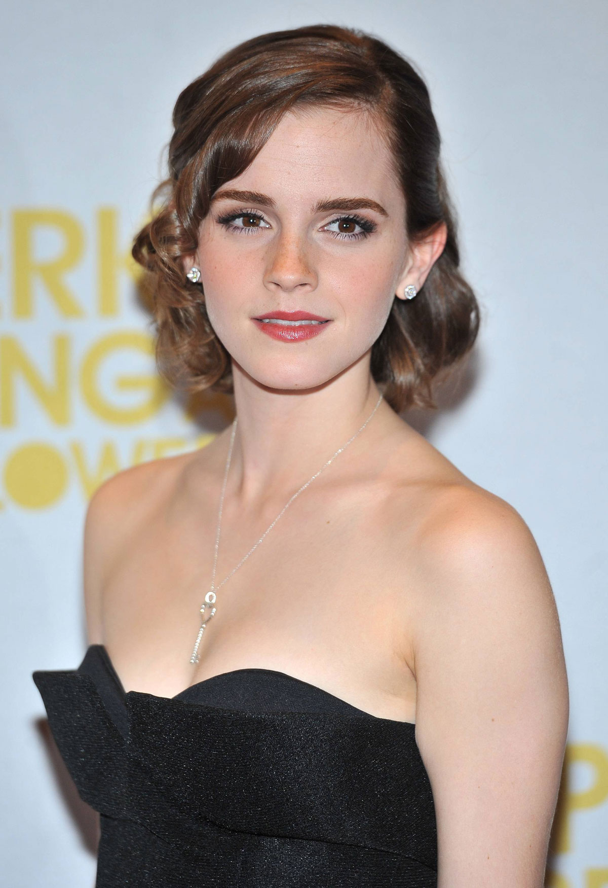 emma watson at perks of being a wallflower premiere in
