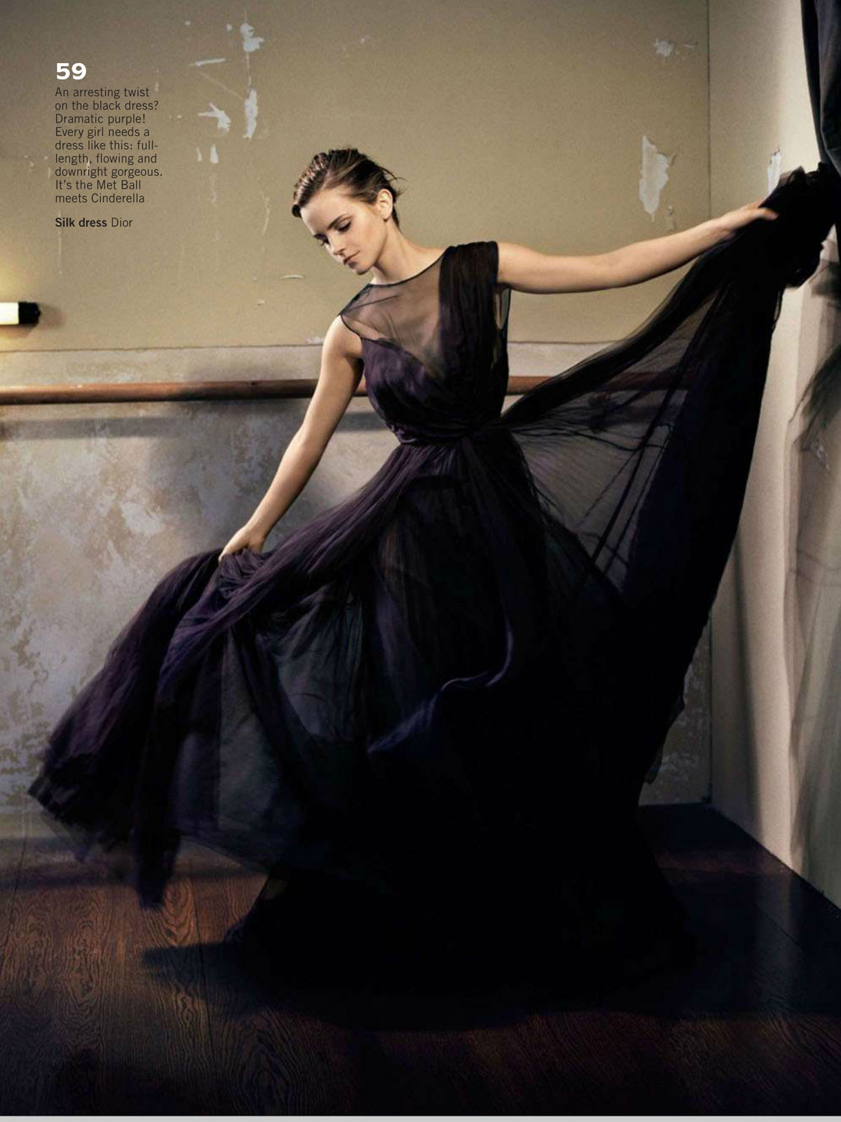 EMMA WATSON in Glamour Magazine, UK October 2012 Issue ... эмма уотсон 2017