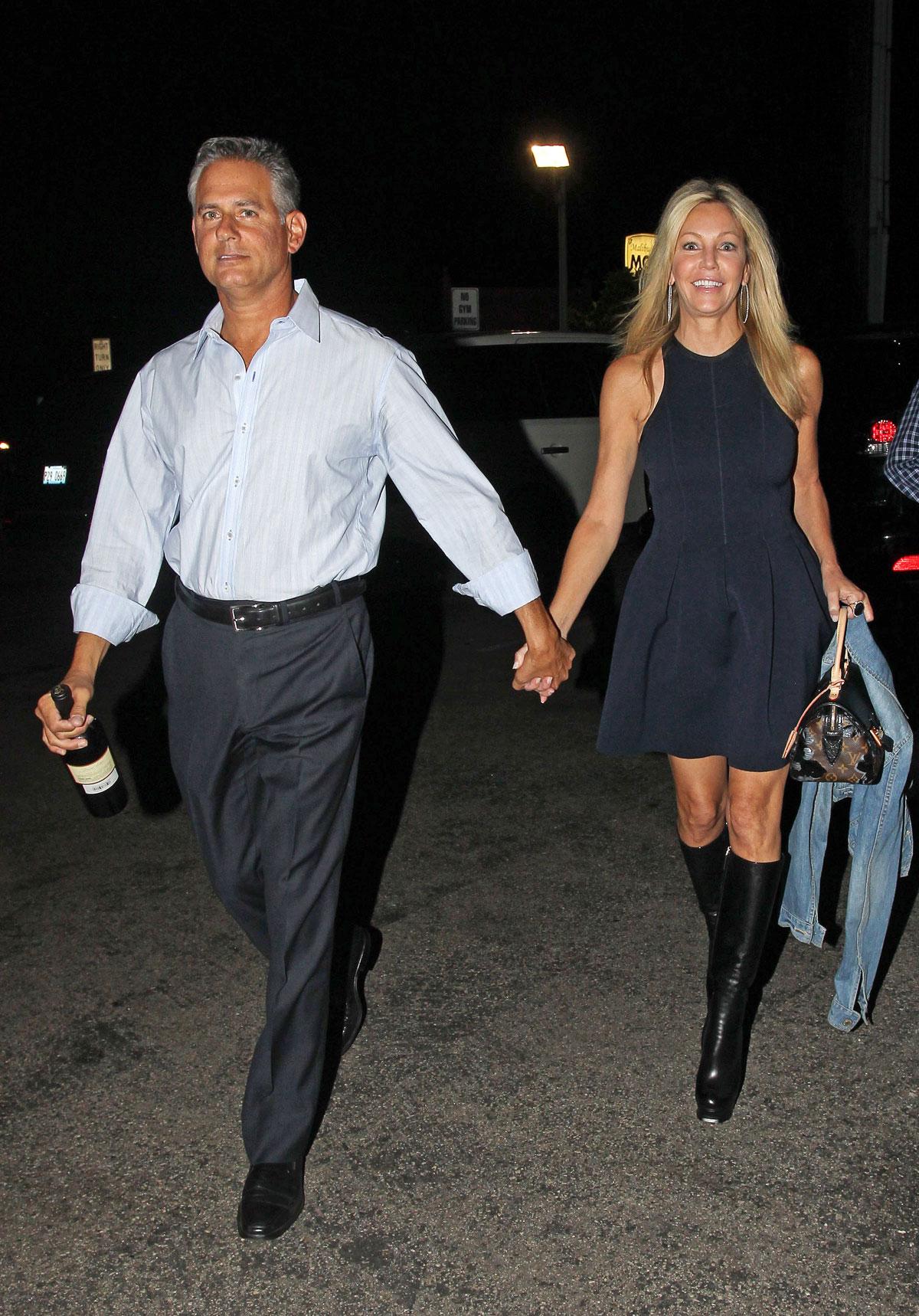 HEATHER LOCKLEAR Leaving Sage Room Restaurant in Malibu ... Vanessa Hudgens Dating
