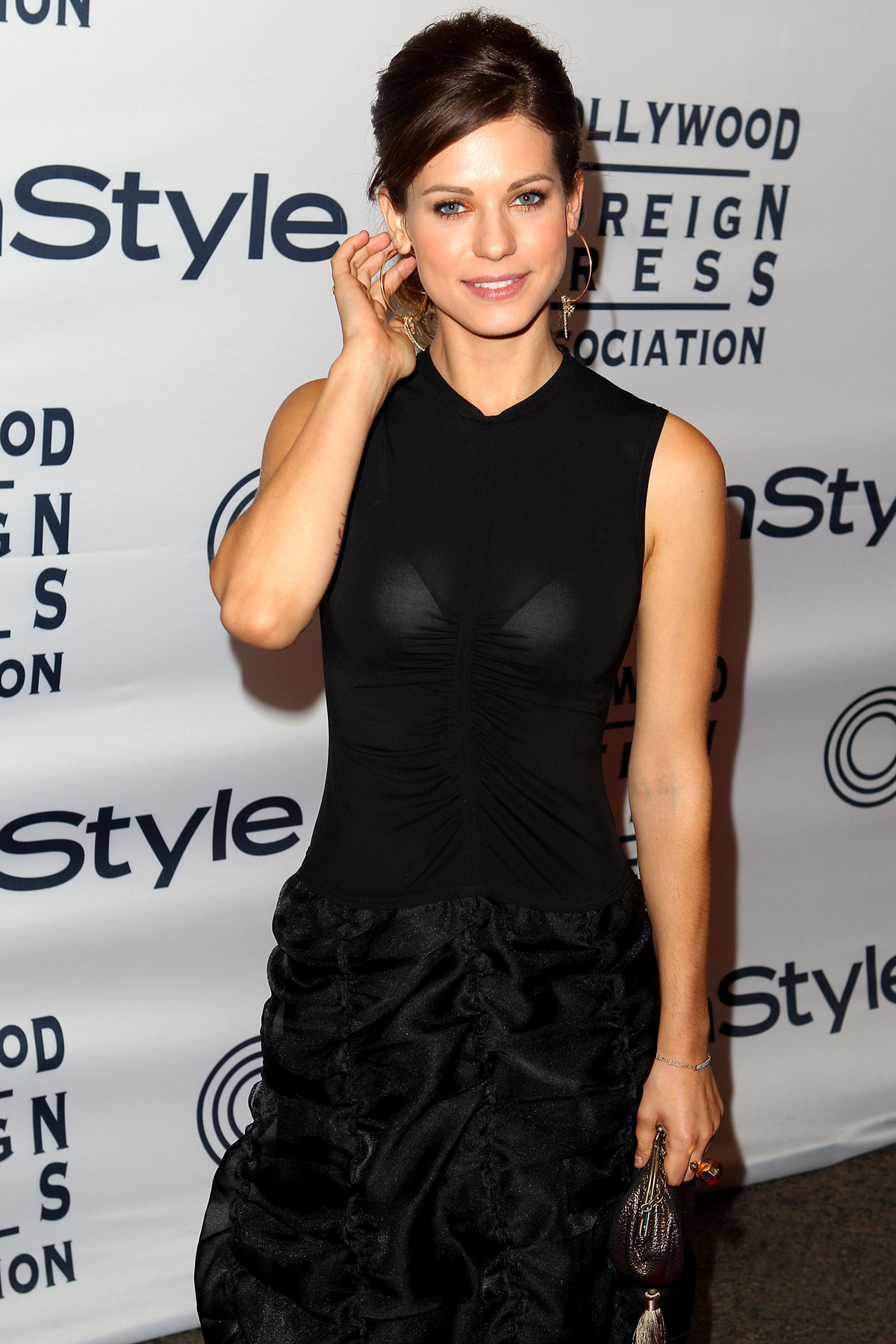 Lyndsy Fonseca At Instyle And Hfpa S Party At Toronto Film