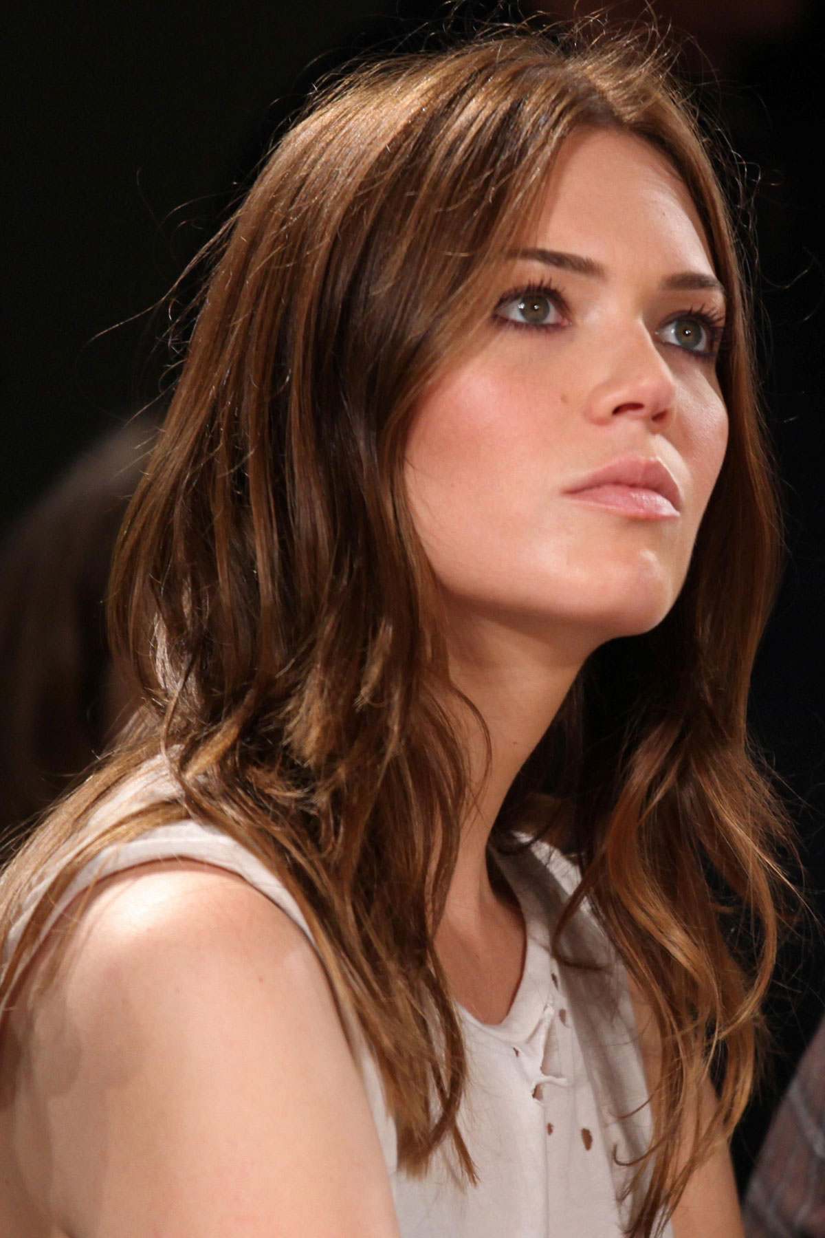 Mandy Moore At Billy Reid Spring Fashion Show In New York