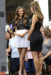 MARIA MENOUNOS and NINA DOBREV