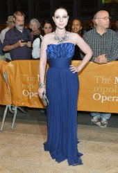 MICHELLE TRACHTENBERG at The Metropolitan Opera Season Opening