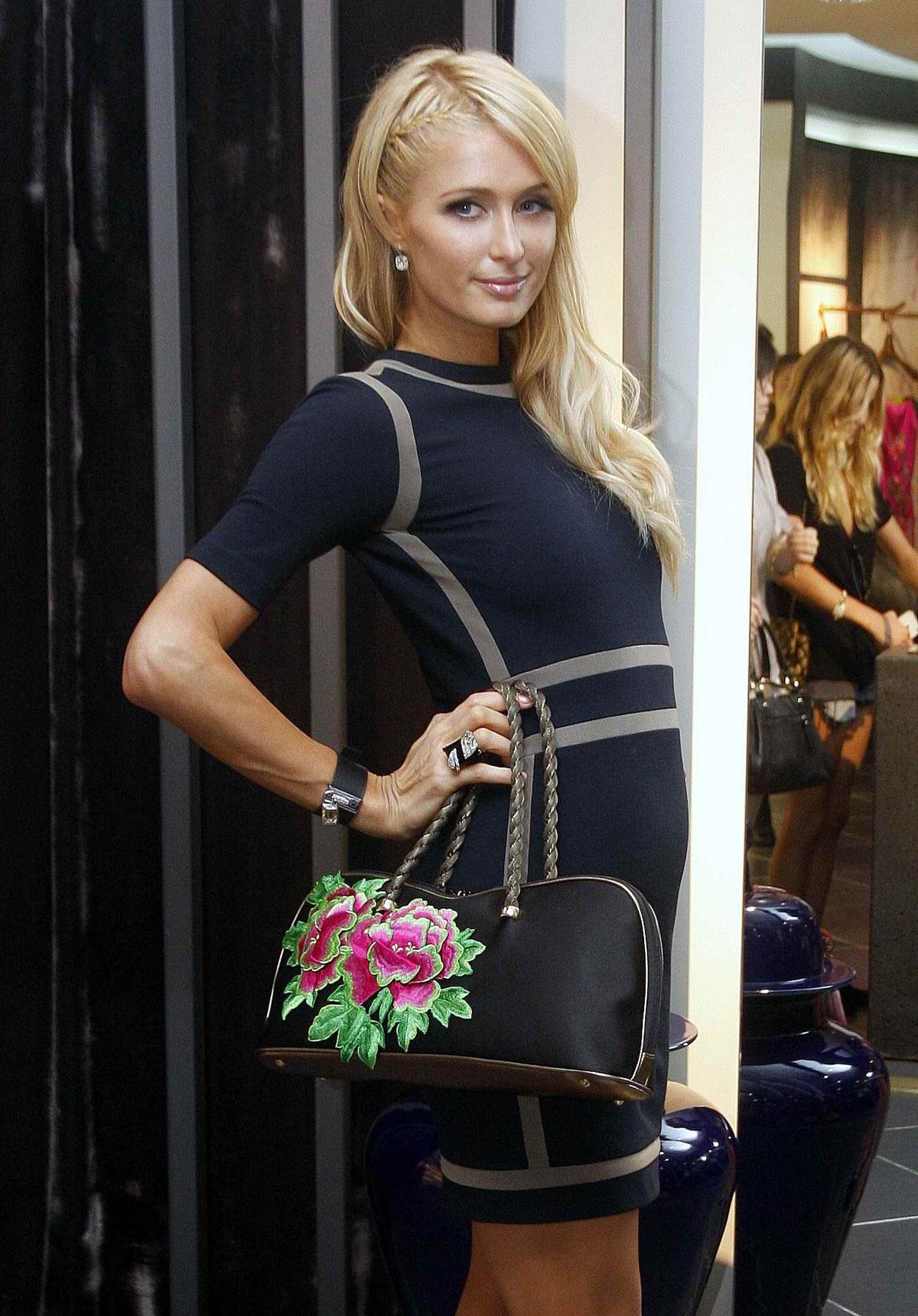 Paris Hilton Out Shopping At Super Brand Mall In Shanghai