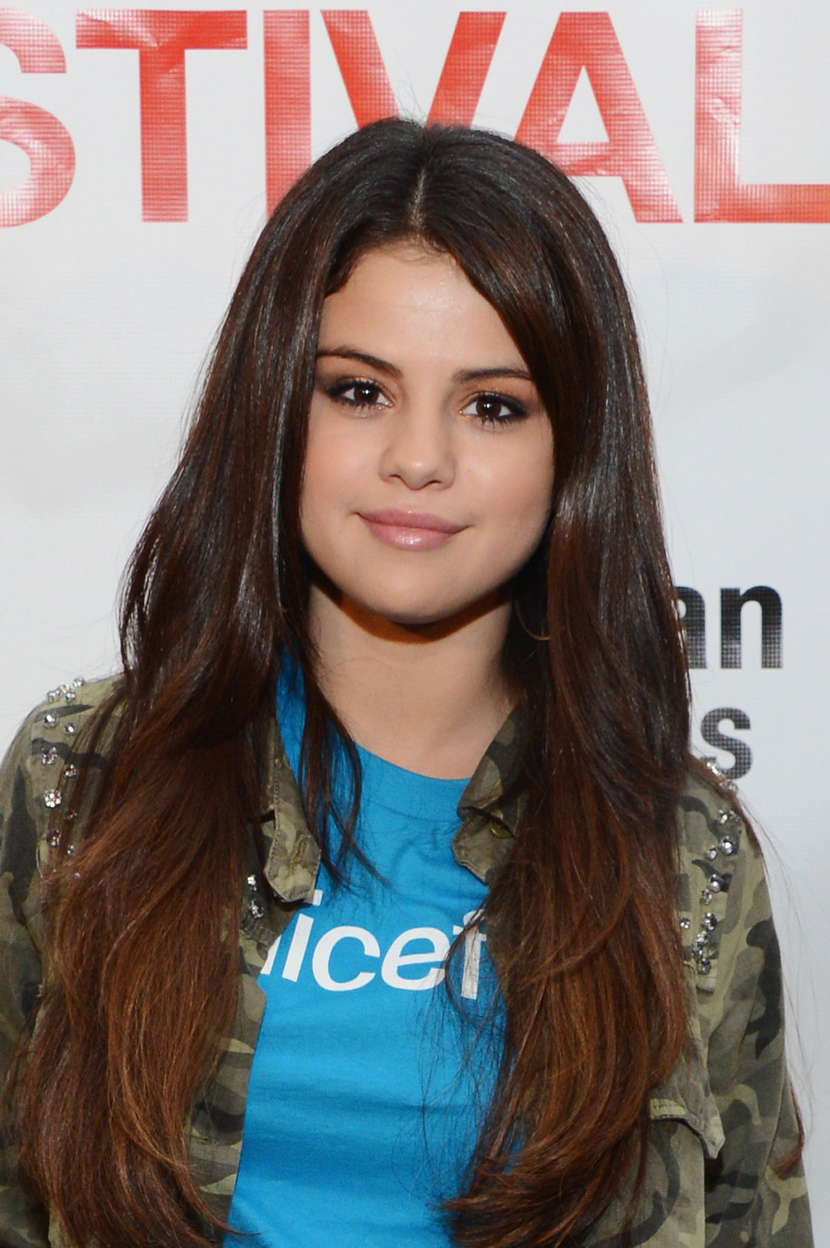 Selena Gomez Ombre Hair 2013