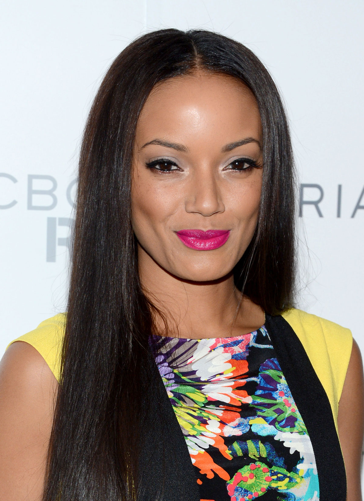 SELITA EBANKS at The BCBGMAXAZRIA Fashion Show in New York ...