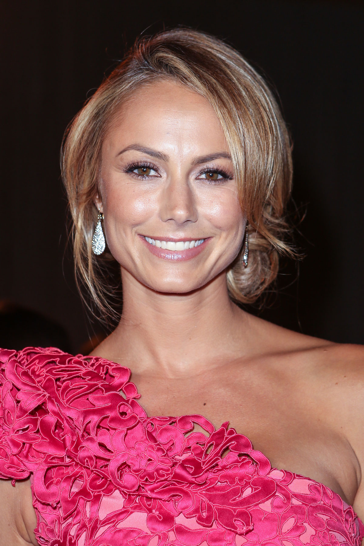 STACY KEIBLER at Marchesa Fashion Show in New York