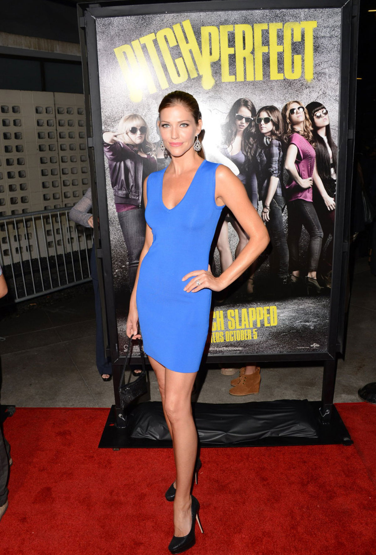 Tricia Helfer At Pitch Perfect Premiere In Los Angeles