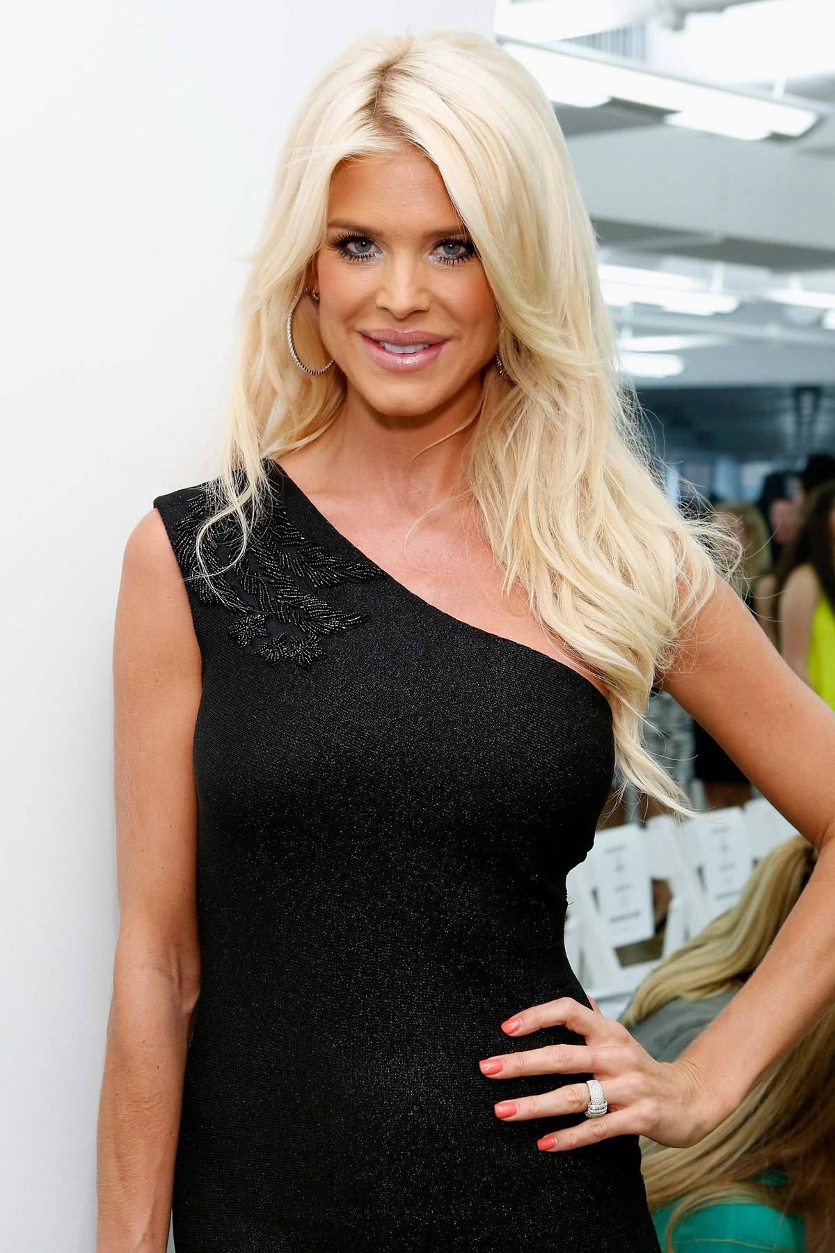VICTORIA SILVSTEDT at Carmen Marc Valvo Fashion Show in ...