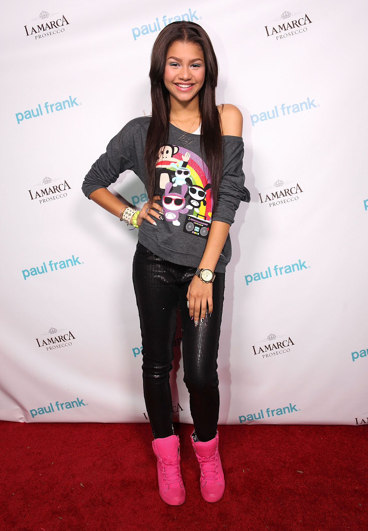 Zendaya At Paul Frank Show At Fashion Night Out In Los Angeles Hawtcelebs