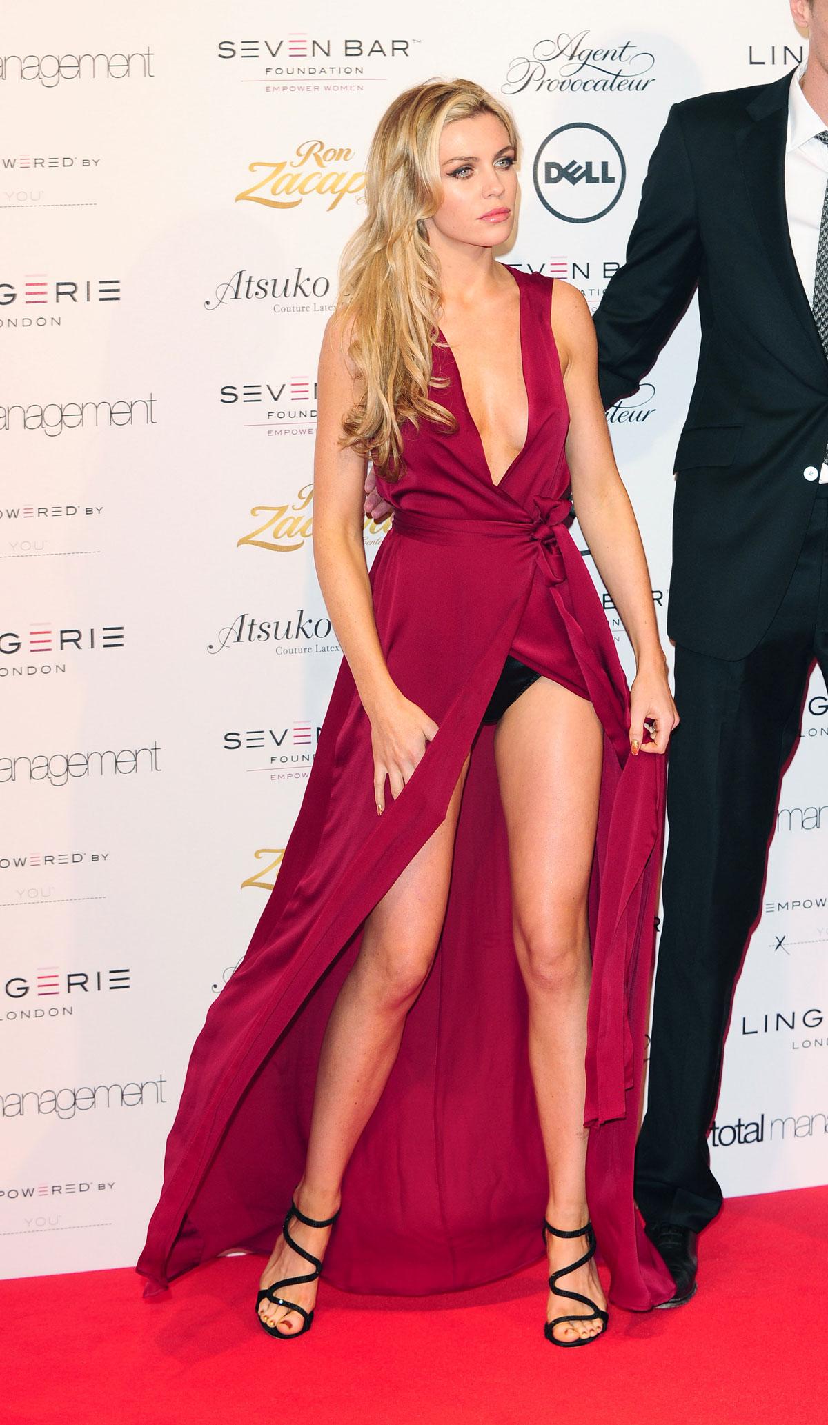 ABBEY CLANCY at London Lingerie Fashion Show – HawtCelebs