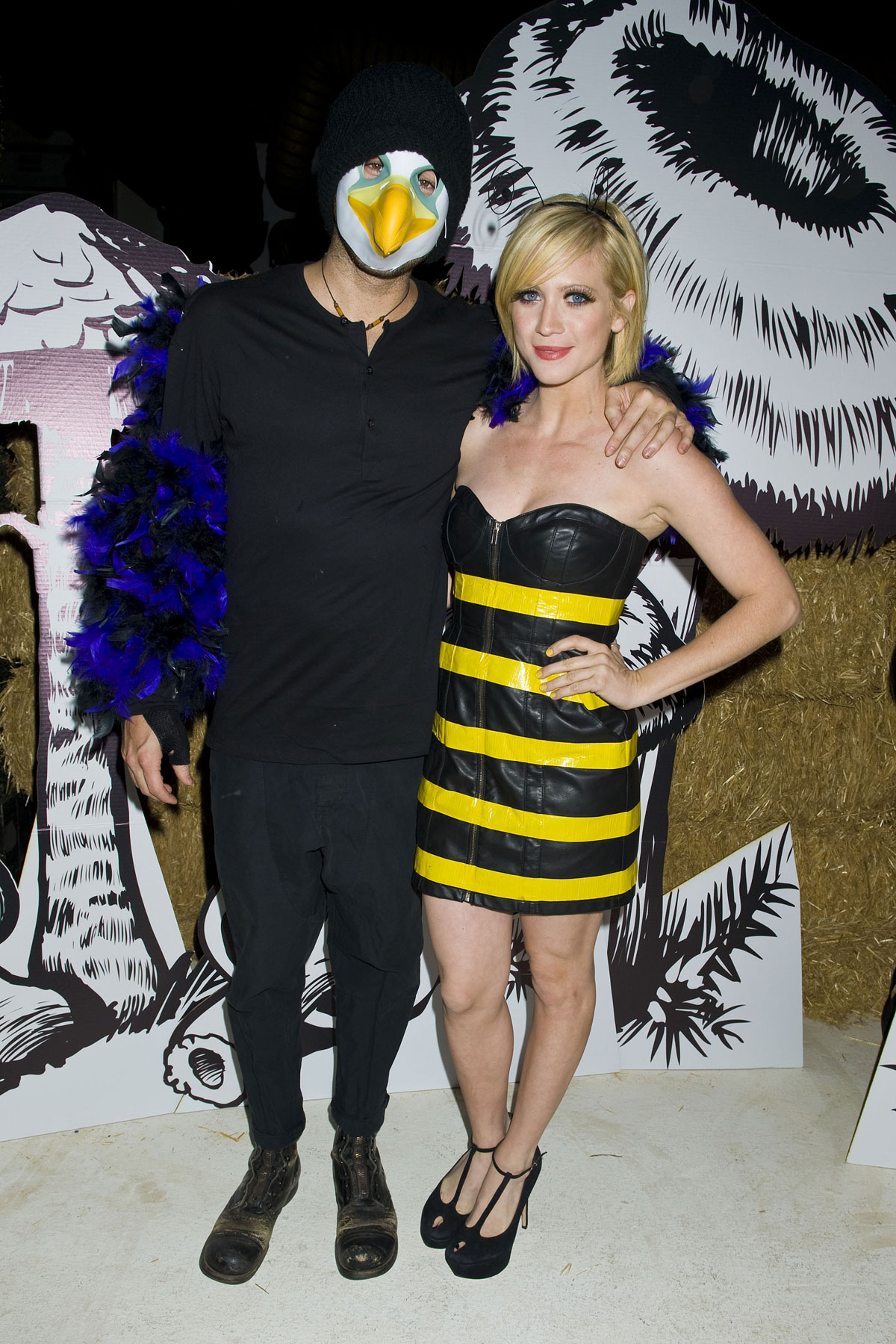 BRITTANY SNOW at Just Jared Halloween Party in Los Angeles ...