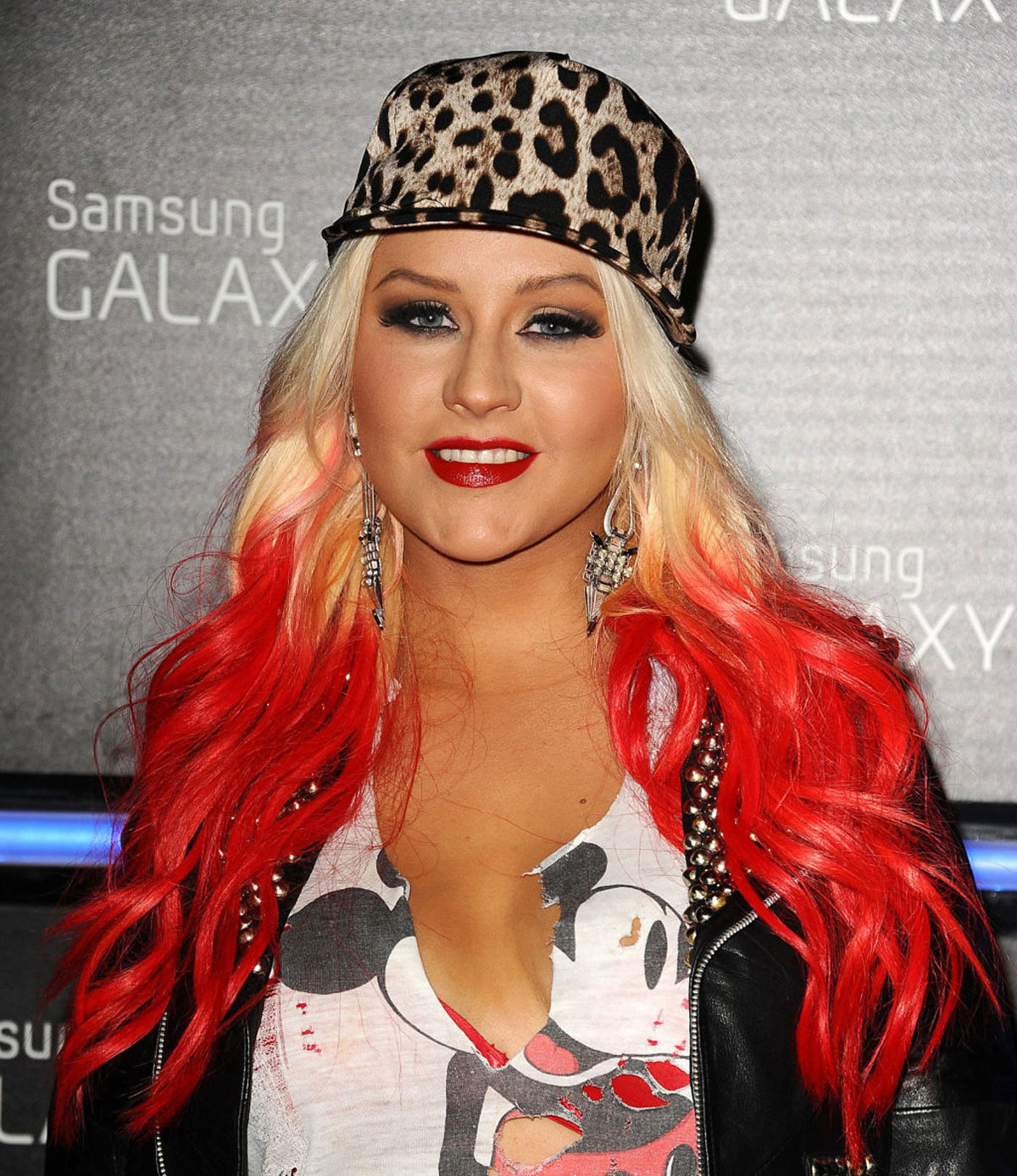 CHRISTINA AGUILERA at Samsung Galaxy Note II Launch in Beverly Hills Christina Aguilera