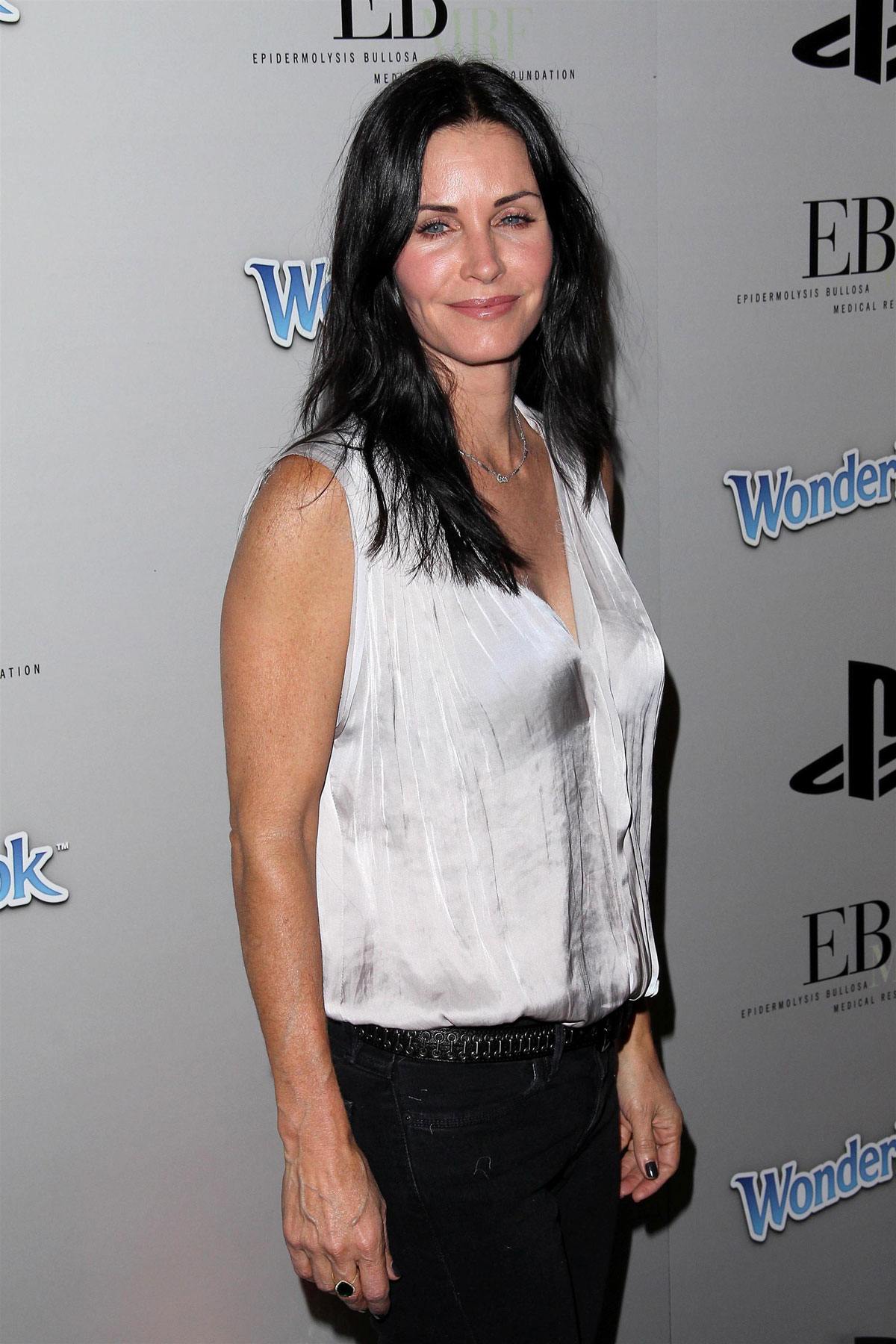 courtney cox at ebmrf and playstation epic halloween bash
