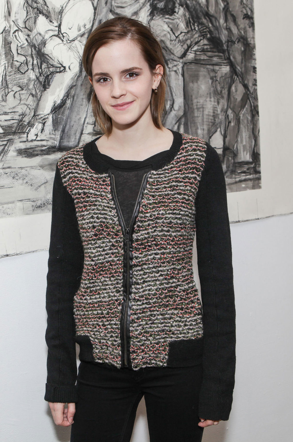 Emma watson at new york studio school 2012 benefit auction and dinner