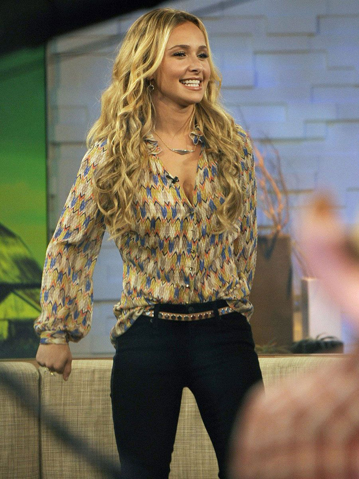 Hayden Panettiere At Good Morning America In New York