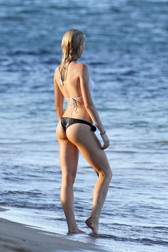 IRELAND BALDWIN in Bikinis on the Beach in Maui