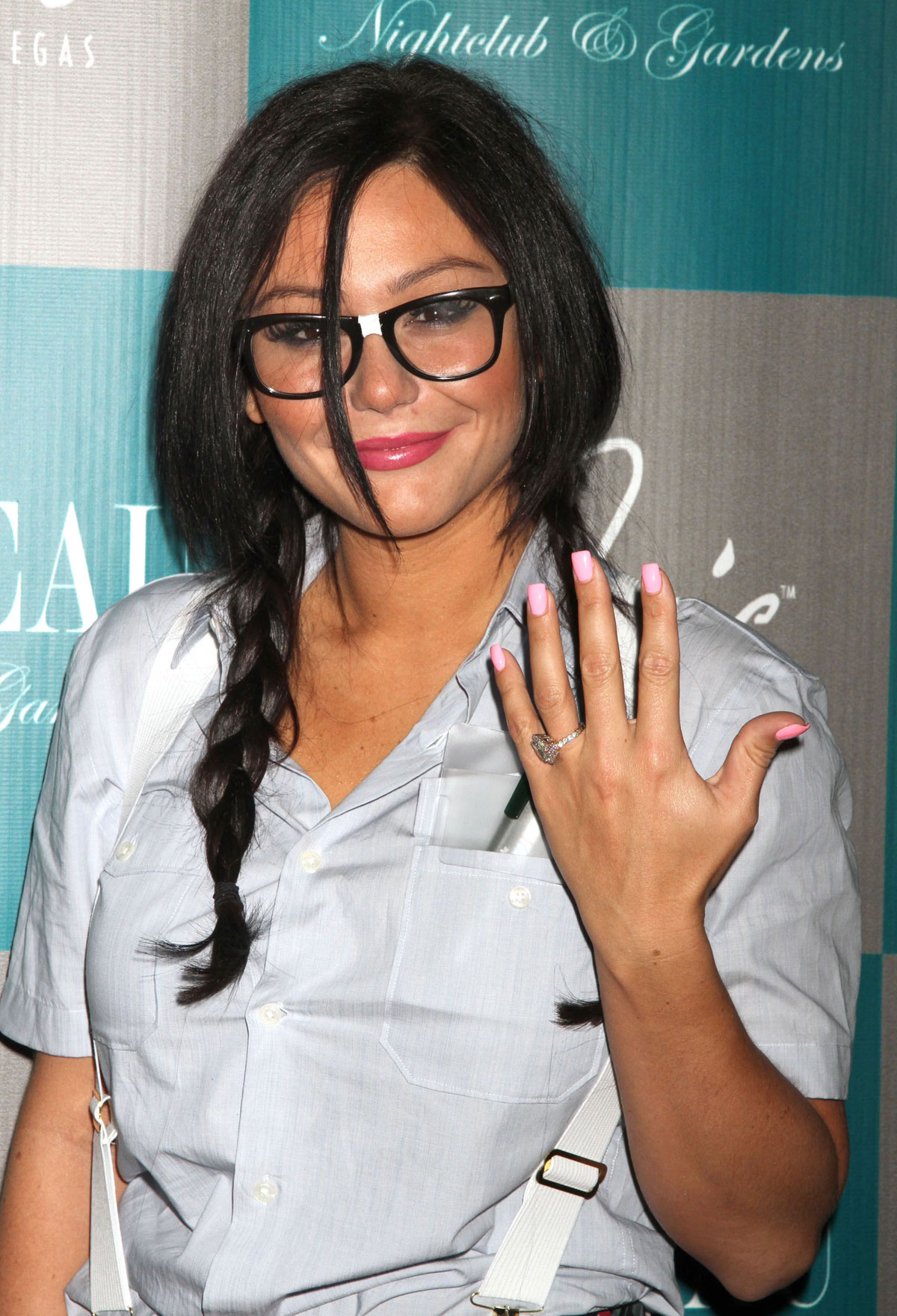 Jenni Jwoww Farley Shows Off Her Engagement Ring