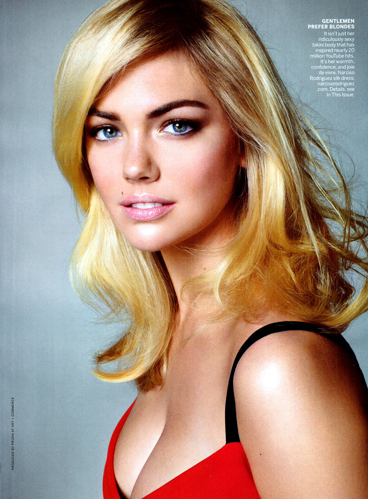 Kate Upton In Vogue Magazine November 2012 Issue Hawtcelebs