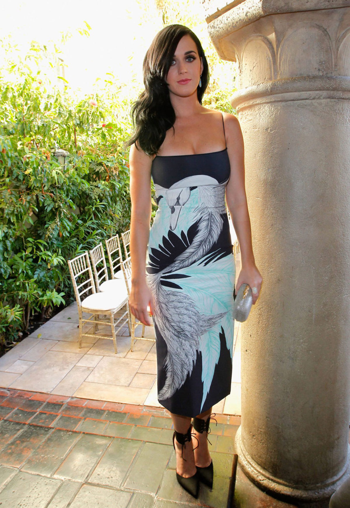 Katy Perry At Cfda Vogue Fashion Fund Event In Los Angeles Hawtcelebs