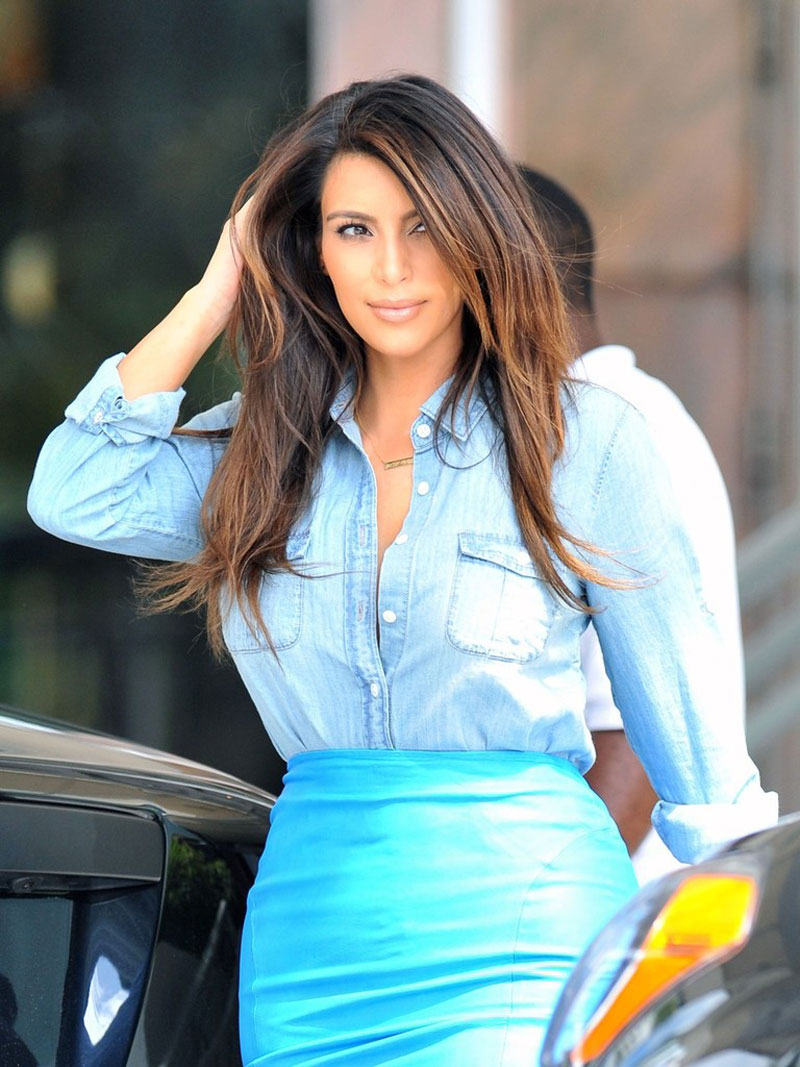 Kim Kardashian Out And About In Miami Hawtcelebs