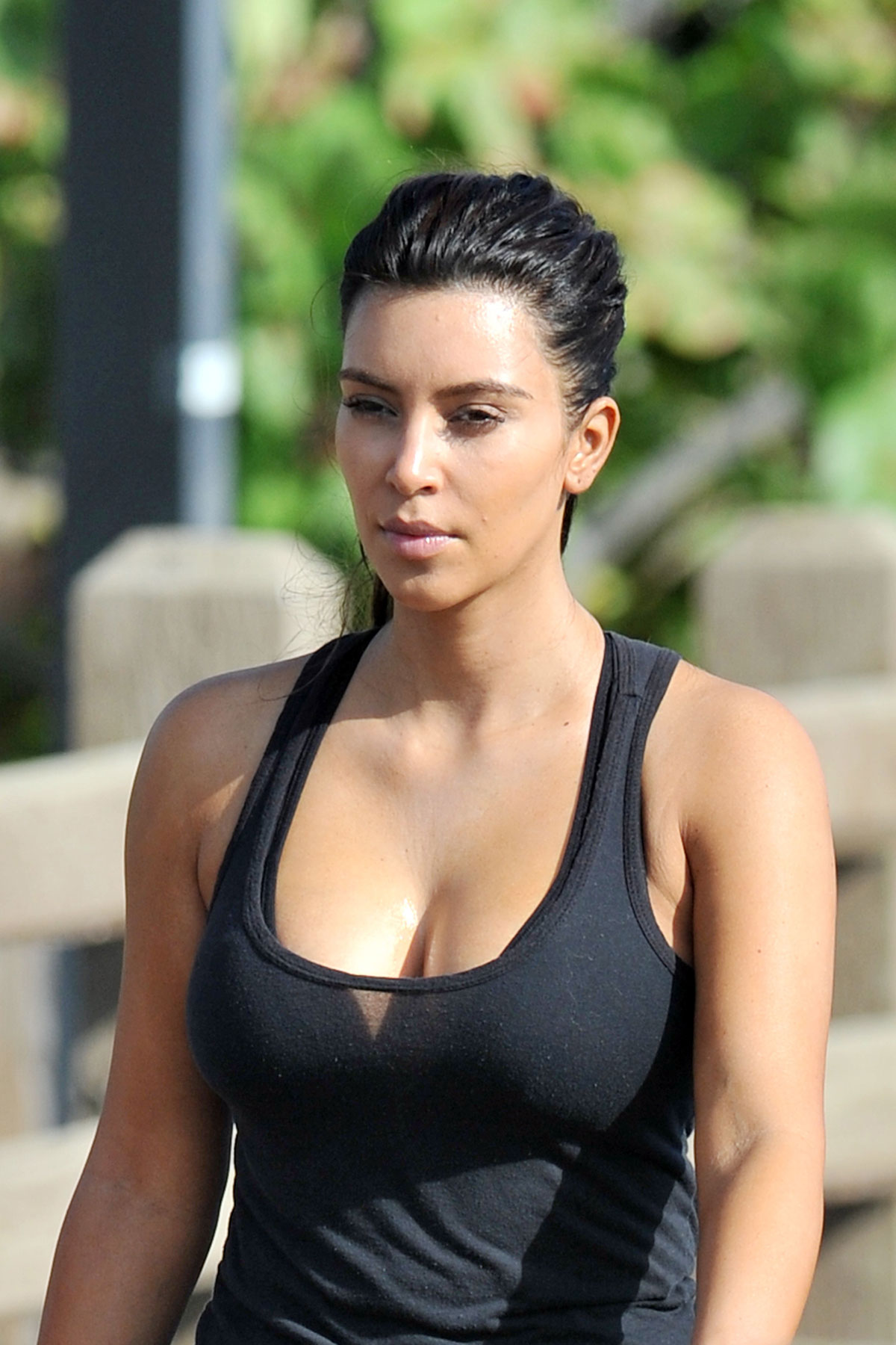 KIM KARDASHIAN on the ... Kim Kardashian