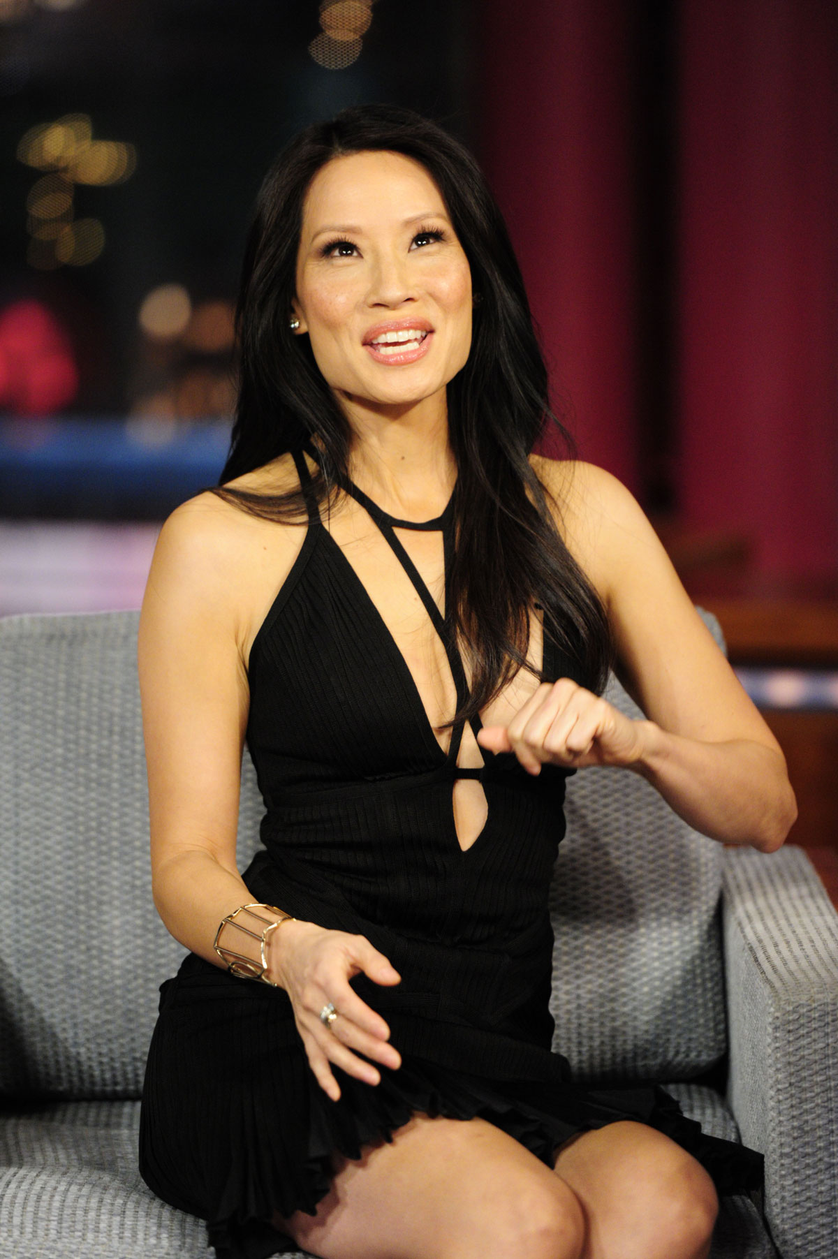 LUCY LIU at HBOs Emmy After Party - HawtCelebs