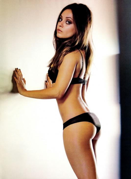 MILA KUNIS in Esquire Magazine, November 2012 Issue