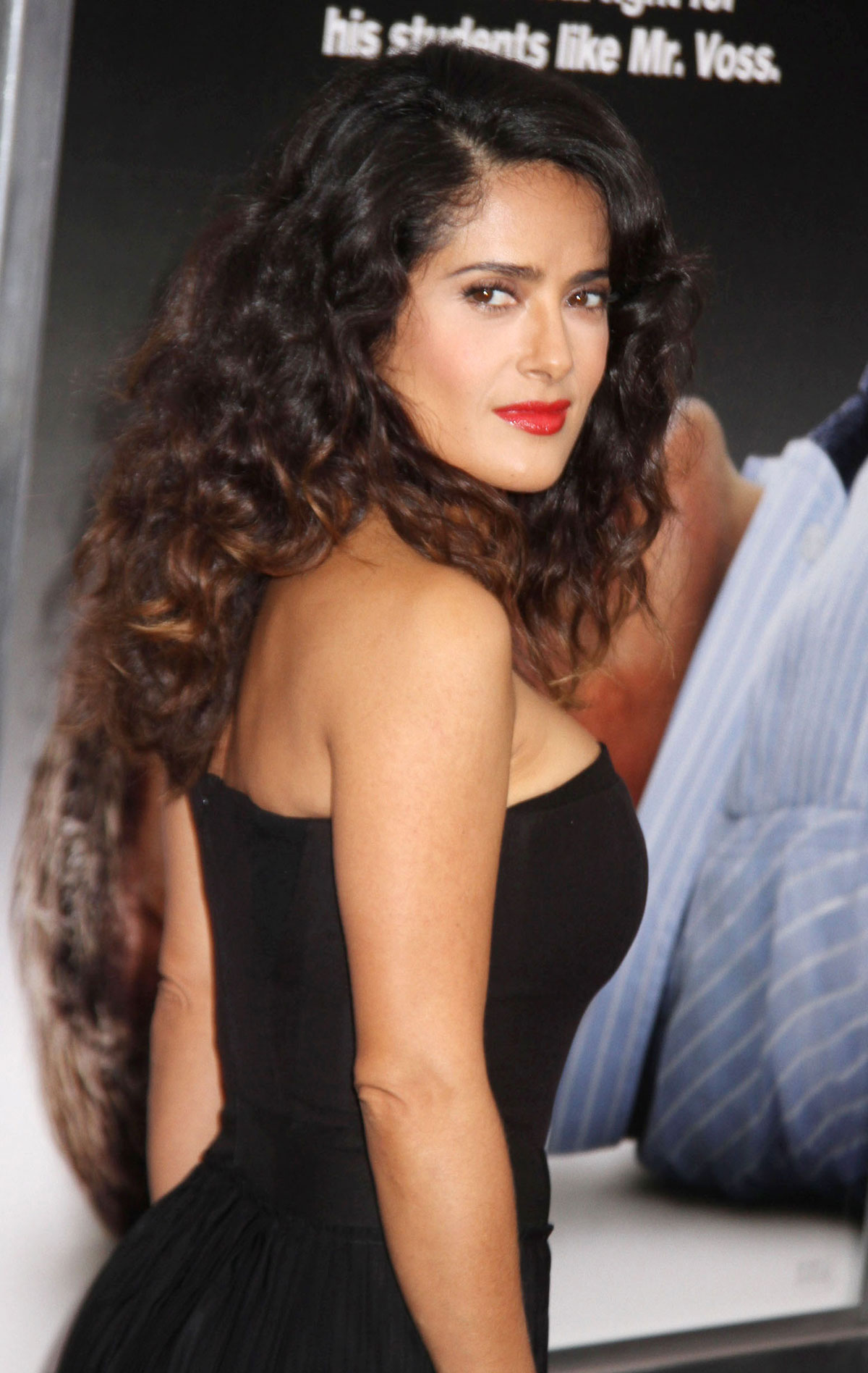 Salma Hayek At Here Comes The Boom Premiere In New York