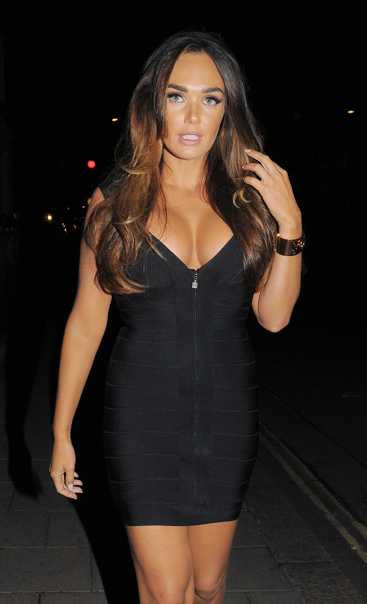 TAMARA ECCLESTONE at Cipriani Bar and Nightclub  HawtCelebs