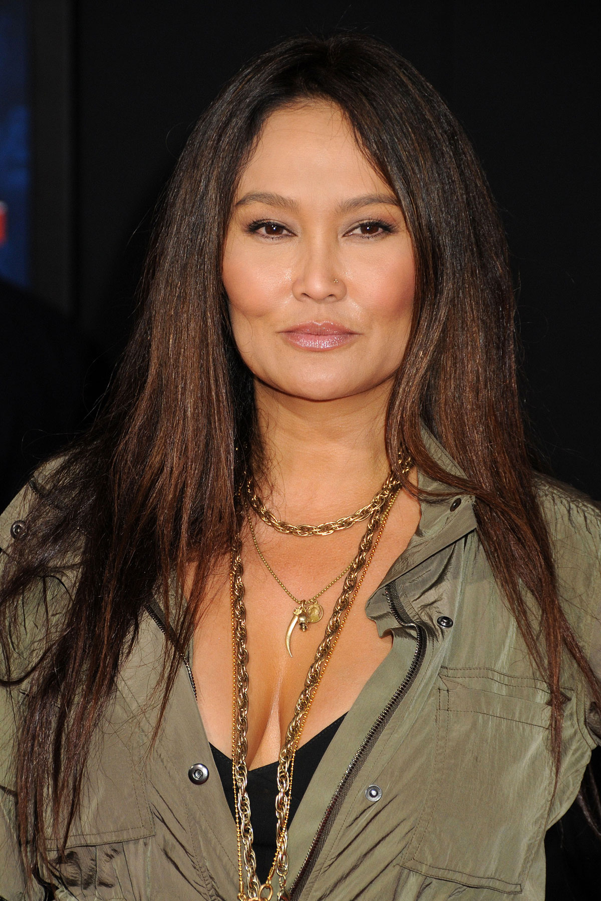 tia carrere at the wreck it ralph premiere in hollywood