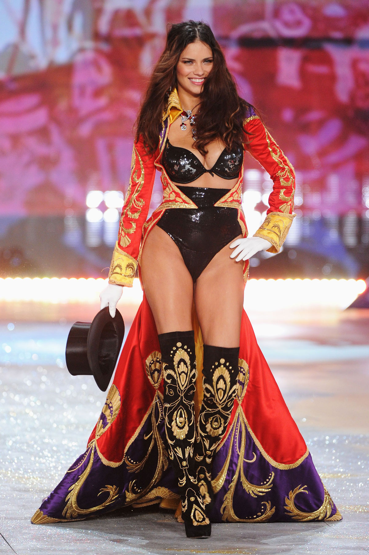 Adriana Lima At 2012 Victoria S Secret Fashion Show In New York Hawtcelebs