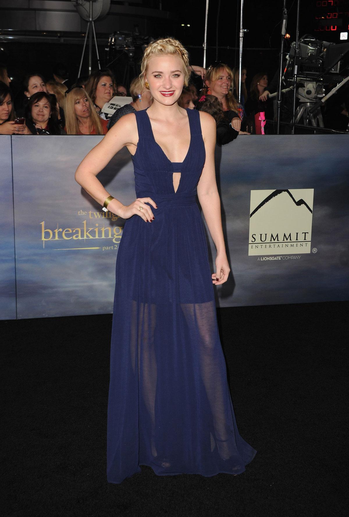 AJ MICHALKA at The Twilight Saga: Breaking Dawn - Part 2