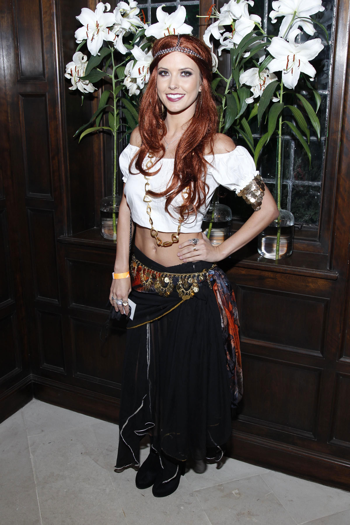 audrina patridge at kiis fm halloween party