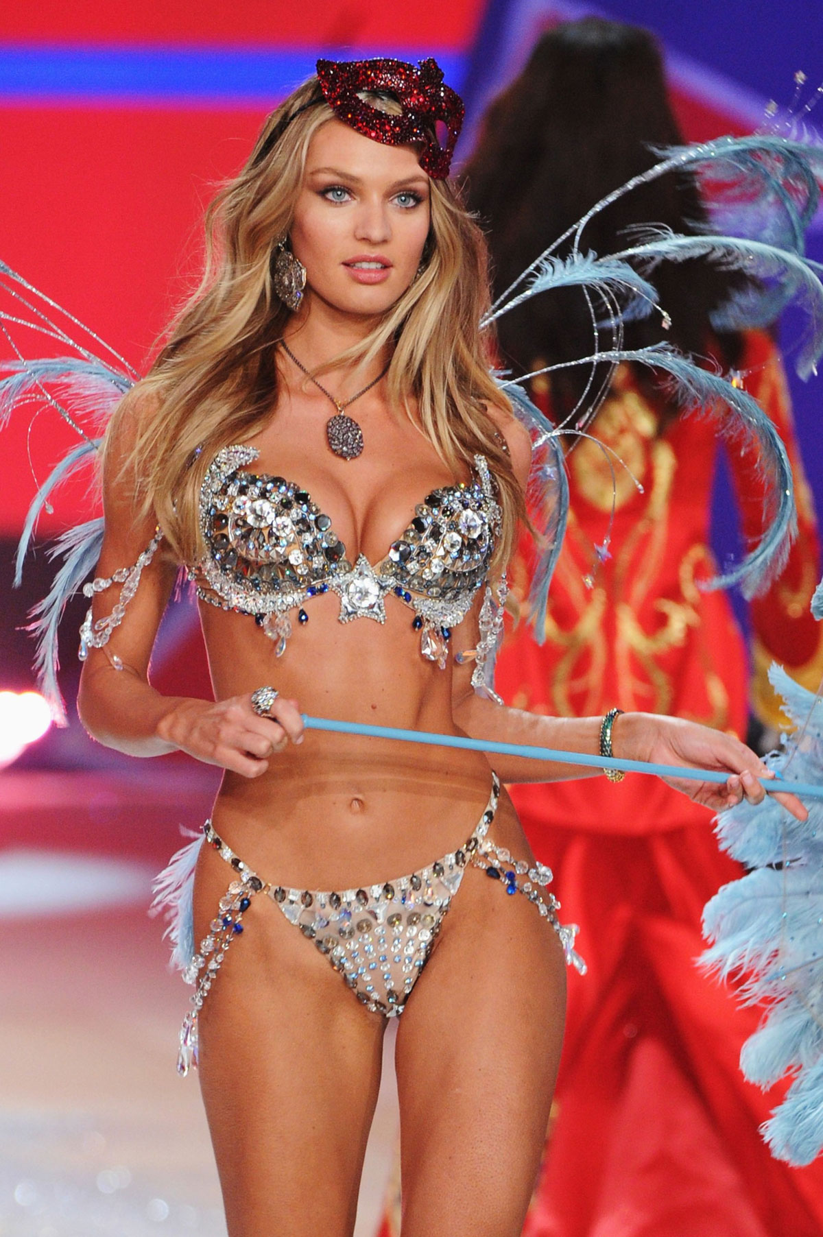 8c7af1cb74 CANDICE SWANEPOEL at 2012 Victoria s Secret Fashion Show in New York ...