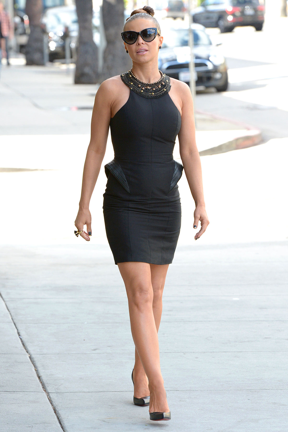 Black dress hollywood - Carmen Electra