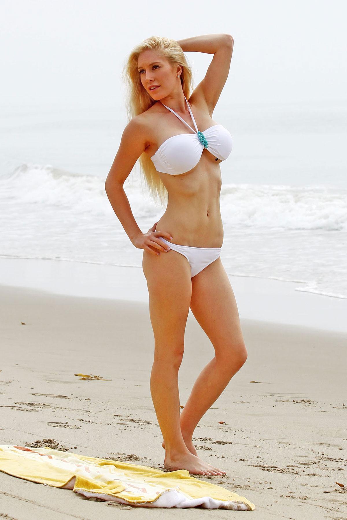 The truth. Heidi montag bikini what