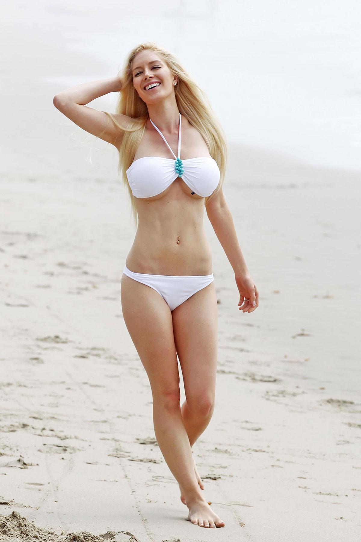Heidi montag + bikini
