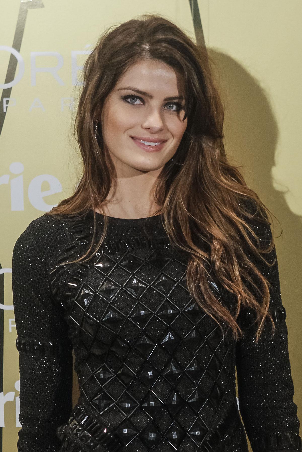 ISABELI FONTANA At Marie Claire Prix De La Moda Awards In