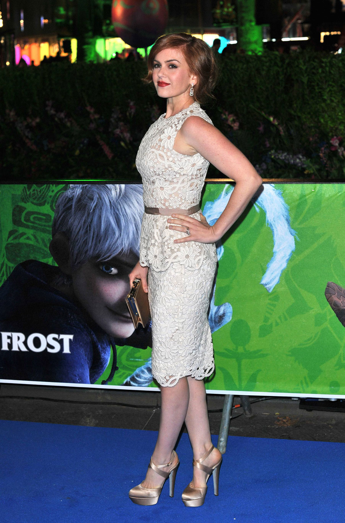 ISLA FISHER at Rise of the of the Guardians Premiere