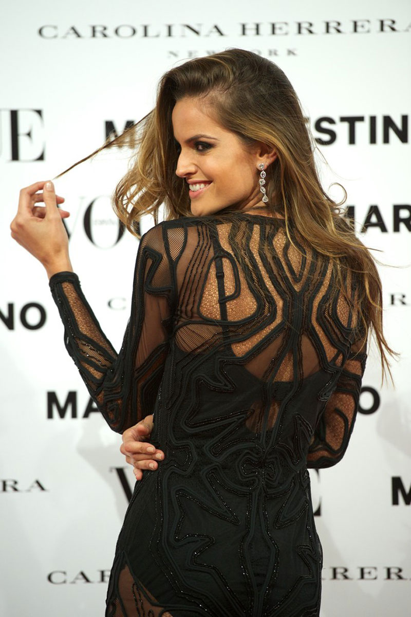 More Pics of Izabel Goulart Beaded Dress (6 of 7) - Izabel Goulart Lookbook - StyleBistro.