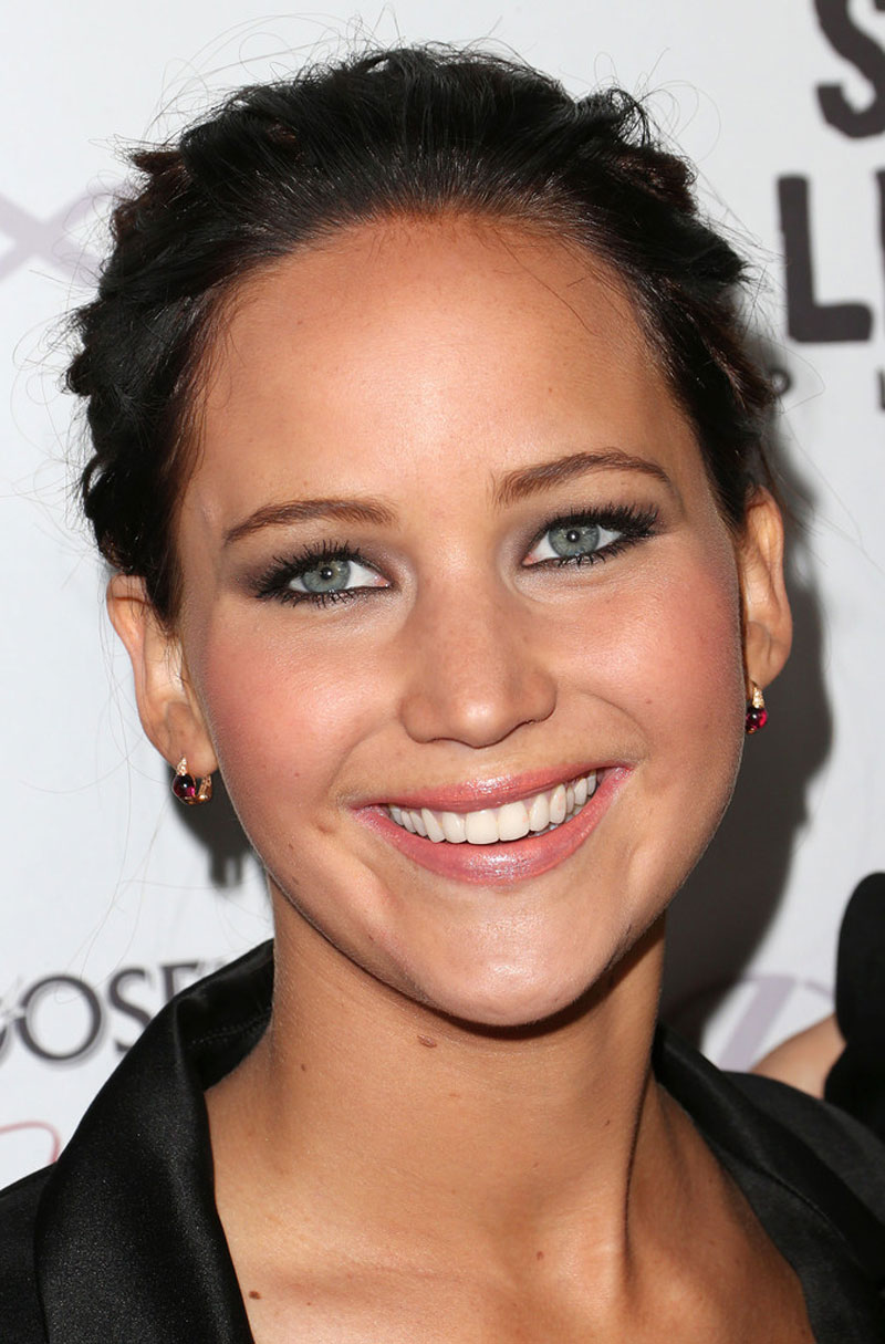 jennifer lawrence at silver linings playbook screening in