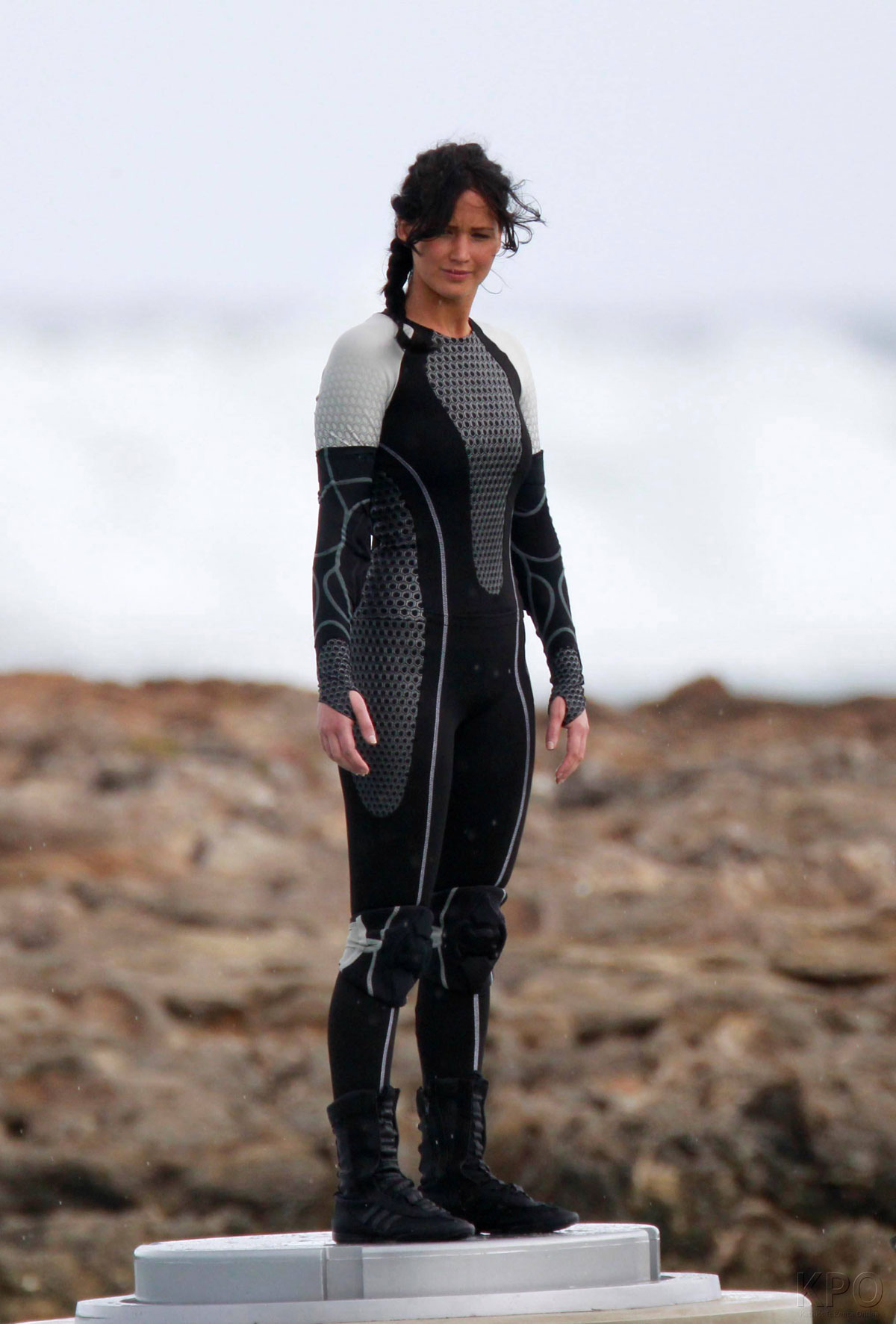 JENNIFER LAWRENCE on The Hunger Games: Catching Fire Set ...