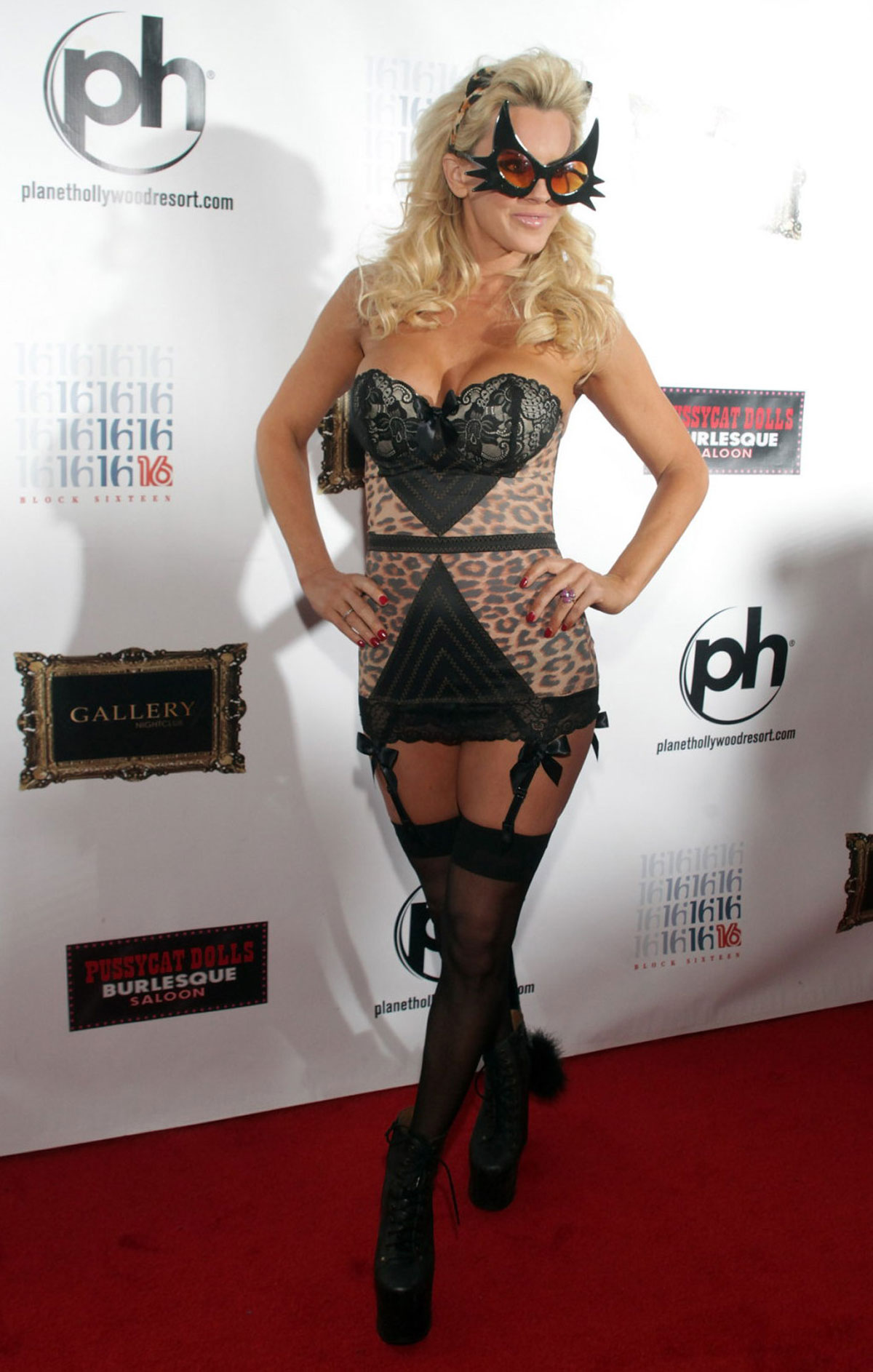 JENNY McCARTHY at Halloween Birthday Party at Planet Hollywood in ...